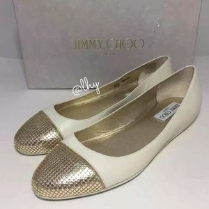 JIMMY CHOO 💯 Authentic Ballerina shoes 💫