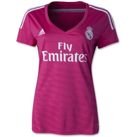 66% off adidas Tops - NWOT Adidas Fly Emirates Hot Pink Soccer ...