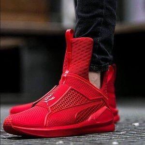0bc4fa8f578 Puma Shoes - PUMA Fenty Trainer - Rihanna Collection Red Alert