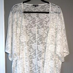 Express Lace Kimono Style Jacket