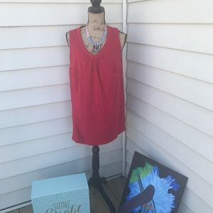 Red VNeck Tunic