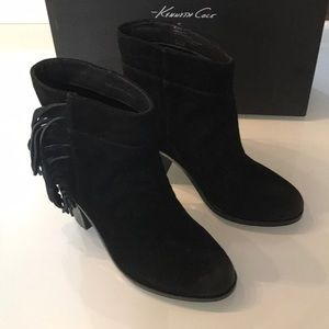 Kenneth Cole Alana bootie black size 6.5