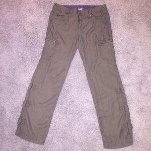 Athleta khaki pants,  super soft, 12 Tall