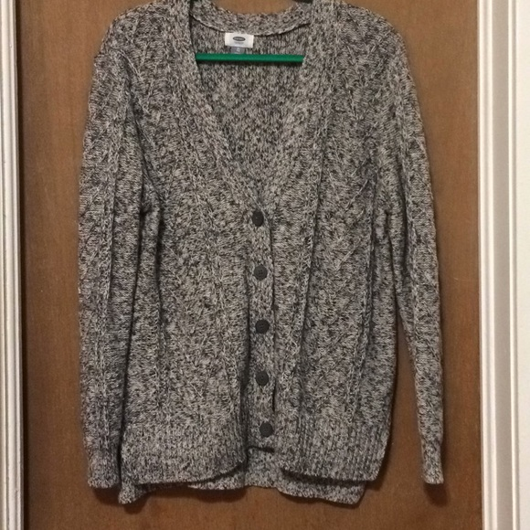 c95ee855df164 Old Navy Sweaters | Bluewhite Buttonup Sweater Cardigan Xl | Poshmark