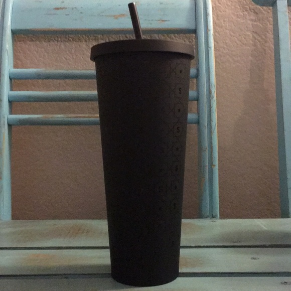 Starbucks 24 Oz Matte Black W S Design Boutique