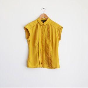 Jason Wu for Target mustard yellow collar blouse