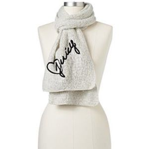 Juicy couture sweater scarf
