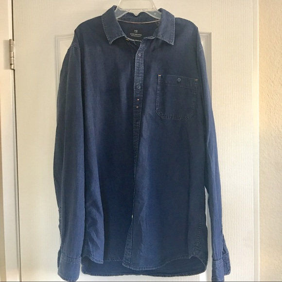 7bc366eedf4 Scotch & Soda Shirts | Scotch Soda Mens Cotton Denim Shirt Xl | Poshmark