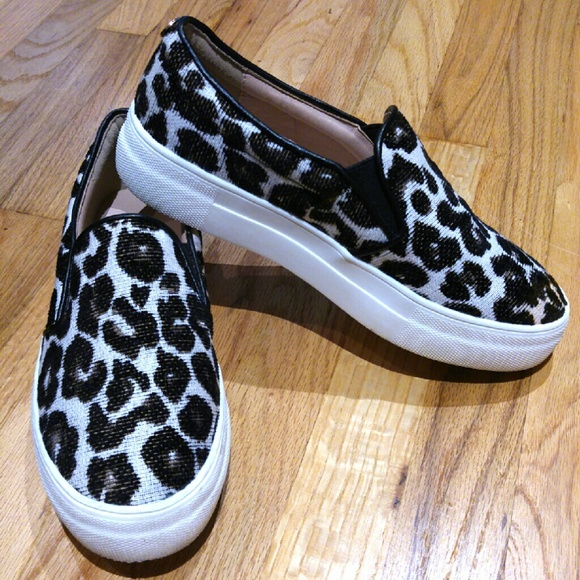 3be5c66a17fd Topshop Shoes | Fall Staple Leopard Print Slip Ons | Poshmark