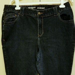Lane Bryant boot cut jeans 22 average