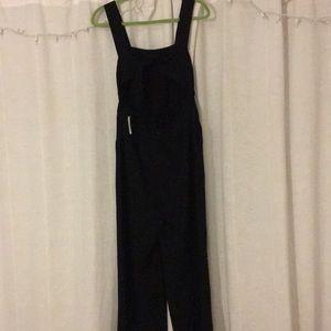 Madewell Pants Apron Bowback Jumpsuit Size 0 Nwt Poshmark