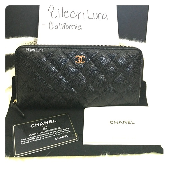 1dd375f7759fd4 CHANEL Bags | Brand New Classic Zip Around Wallet | Poshmark