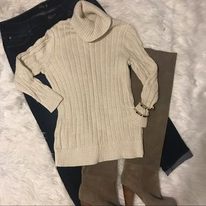 Studio Works cream knit sweater