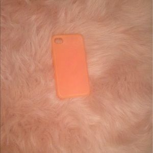 Accessories - Peach iPhone case