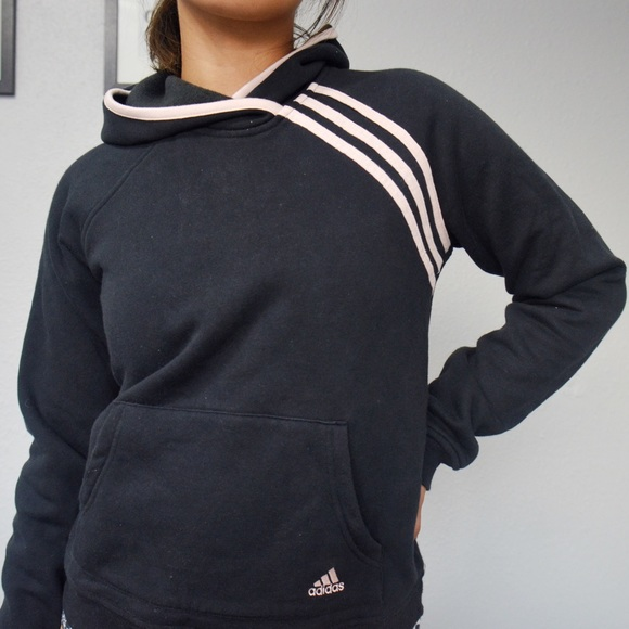 a4f6489c295b adidas Sweaters - Pink and Black Adidas Jacket Hoodie