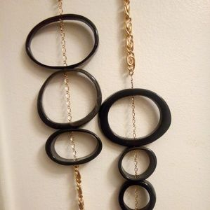 """Jewelry - Vintage one of a kind long necklace heavy 44"""""""