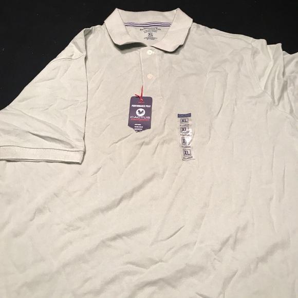22cec3d08 Men s golf shirt. NWT. Cactus