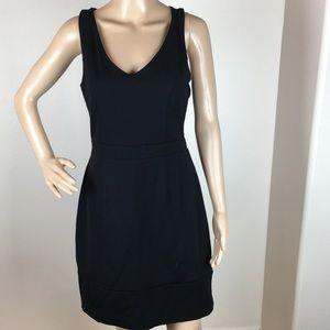Cynthia Rowley Racerback Black Dress Sz M