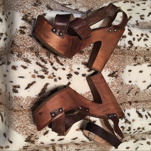 62bf07632473 Bed Stu Shoes - BEDSTU Madeline Teak Rustic Platform