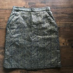 Tucker for Target Side Pockets Lined Pencil Skirt