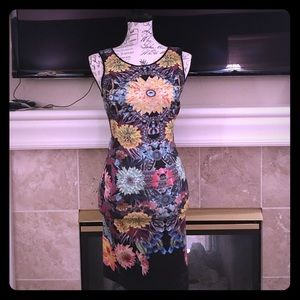 CloverCanyon Bright colors and Floral design dress
