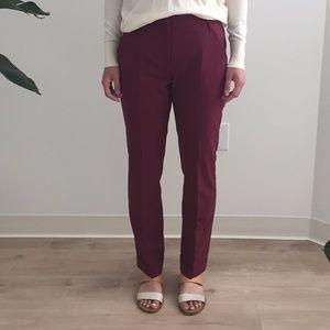Maroon Trousers