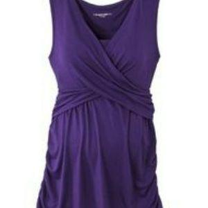 Liz Lange Maternity for Target size medium purple