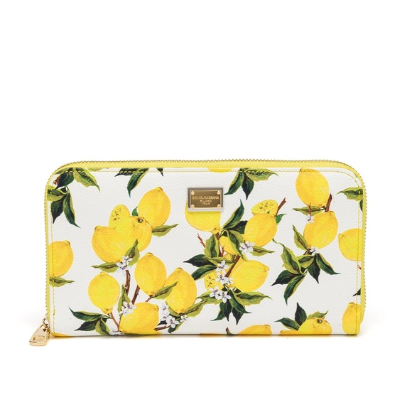 629b019722 Dolce   Gabbana Handbags - ISO DOLCE   GABBANA LEMON WALLET