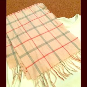Accessories - 💕 Softer Than Cashmere Pink Plaid Scarf 💕