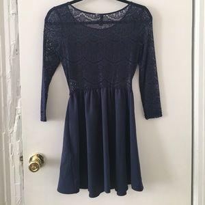 H&M Dresses - Going out Lace Cutout Dress