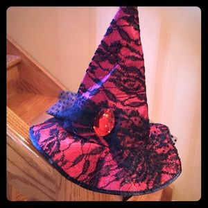 Other - Witches Hat Red Halloween 👻 🎃