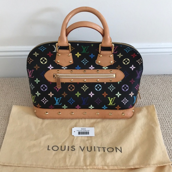 Louis Vuitton Handbags - Louis Vuitton Multicolor Monogram Alma MM 016472bf793b1