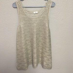 Moth size L sleeveless sweater
