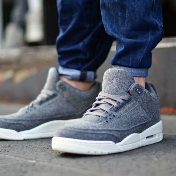 hot sale online 6e372 2e14a NWT Nike Air Jordan 3 Retro WOOL (BG) 7Y