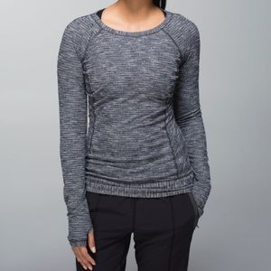 Lululemon Coco Pique Race Your Pace long sleeve 8