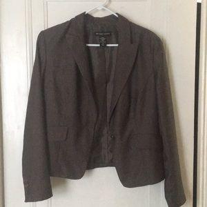Charcoal gray blazer