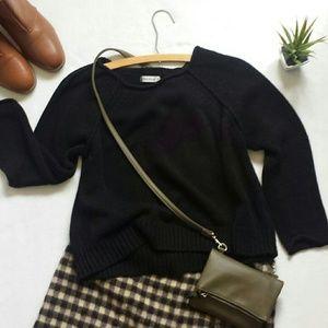 Allen Allen Black Sweater