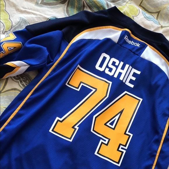 low priced 7ef70 90657 TJ Oshie // Blues jersey
