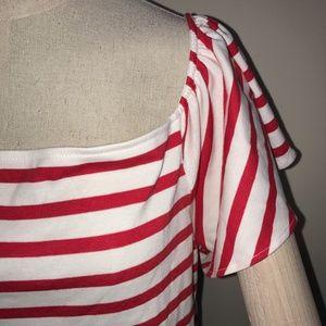 5b937cc1c6d5e Lauren Ralph Lauren Tops - BNWT L or XL Red White Striped On Off