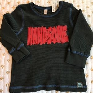New Nano Baby Boy Thermal Top