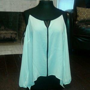 NWT cold shoulder blouse