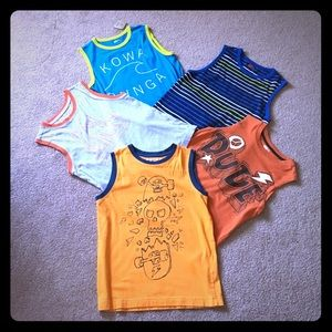 Other - 5 - Boys tank tops 7/8, 10/12