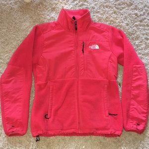 Hot pink North Face Denali!