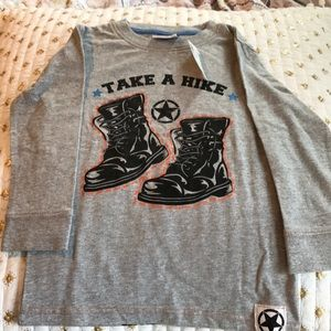 NWT toddler Mish Boys shirt