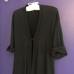 Gap maternity black cardigan