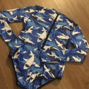 Other - Shark one piece swim suit