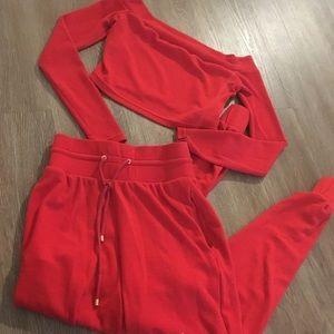 Other - Red jogging set