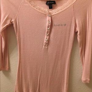 Light pink Bebe top 💕