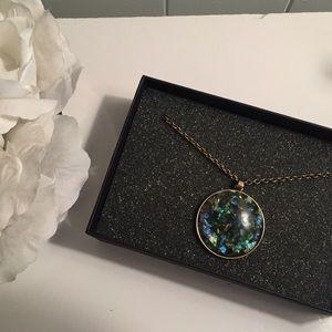 JewelMint Poseidon Disc Necklace