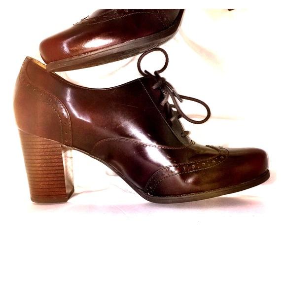 Clarks Artisan Leather Oxfords Ciera Brine